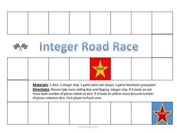 Integers Game