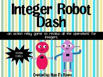 Integer Robot Dash