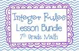 Integer Rules Lesson