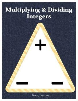 Integer Rules Poster Set