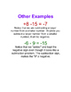 Integer Rules - Rules for Combining, Multiplying and Divid
