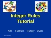 Integer Rules Tutorial