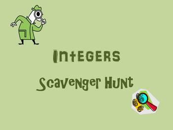 Integer Scavenger Hunt