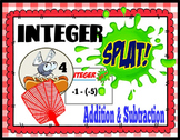 Integer Splat- Adding & Subtracting Integers Edition