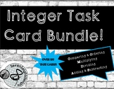 Integer Task Card Bundle! Compare&Order, Add&Subtract,Mult