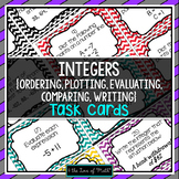 Integer Task Cards (Algebra)