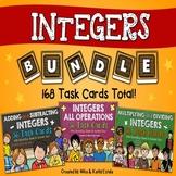 Integers Task Cards BUNDLE