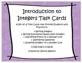 Integer Task Cards- Expressions and Graphing Rational Numb