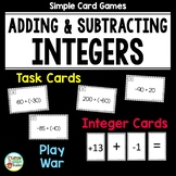 Adding and Subtracting Integers Activities DOLLAR DEAL