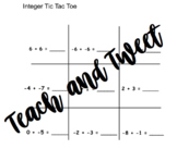 Integer Tic Tac Toe