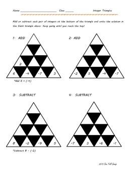 Integer Triangles