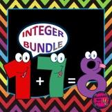 Integer Unit BUNDLE - 3 Activities