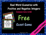 Integer Vocabulary Game