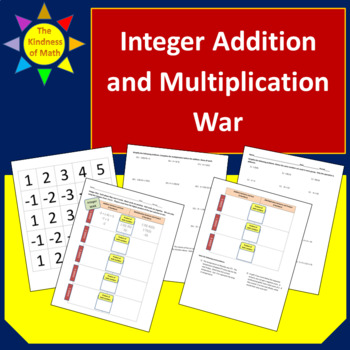 Integer Game of War- Multiplication and Addition