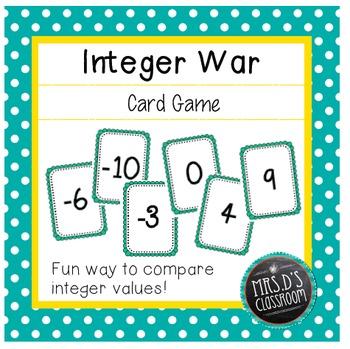 Integer War