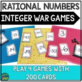 Integer War: A Review/Practice Game