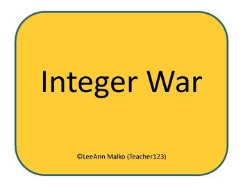 Integer War - Fun Game