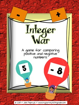 Integer War Game