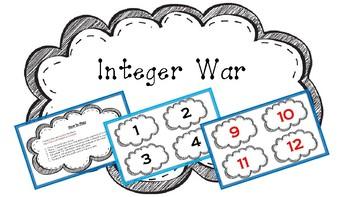 Integer War - Game