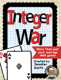 Integer War- Positive and Negative Integers with All Operations