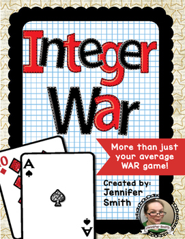Integer War- Order of Operations (Positive and Negative)