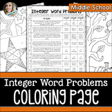 Integer Operations Coloring Page
