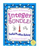 Integer Worksheet: Bundle of Operations