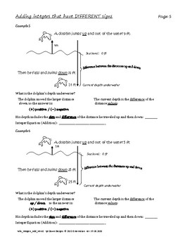integer worksheet intro to adding integers - Adding Integers Worksheet