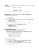 Integer and Order of Operations Notes