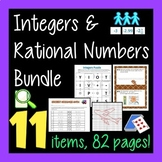 Integers and Rational Number Bundle - 8 items!