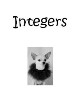 Integer and Rational Number Notes Packet