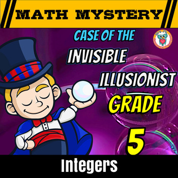 5th Grade Integers Review: Opposites, Ordering and Comparing integers
