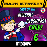 Adding and Subtracting Integers + Multiplying and Dividing Integers Math Mystery