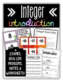 Integers Introduction