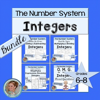 Integers Activities Bundle