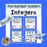 Integers Activities Bundle