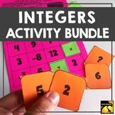 Integers Activity Bundle