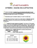 Integers - Adding and Subtracting
