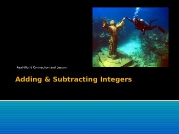 Integers - Adding and Subtracting (Bundle)