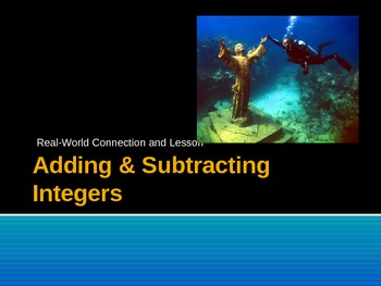 Integers - Adding and Subtracting (PowerPoint)