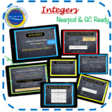 Integers Addition & Subtraction Pdf and Nearpod Lesson Google Classroom