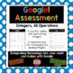 Integers, All Operations Using Google Drive