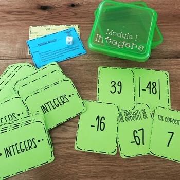 Integers Card Games