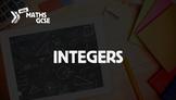 Integers - Complete Lesson