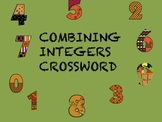 Integers Crossword