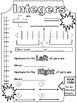 Integers: Doodle Friendly Introduction