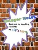 Integers: Doodle Friendly Introduction