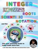 Integers, Exponents, Roots, Scientific Notation - in Brain