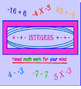 Integers FREE TIMED PowerPoint PREVIEW