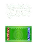 Integers:  Football Math